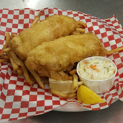 Two Piece Cod Platter